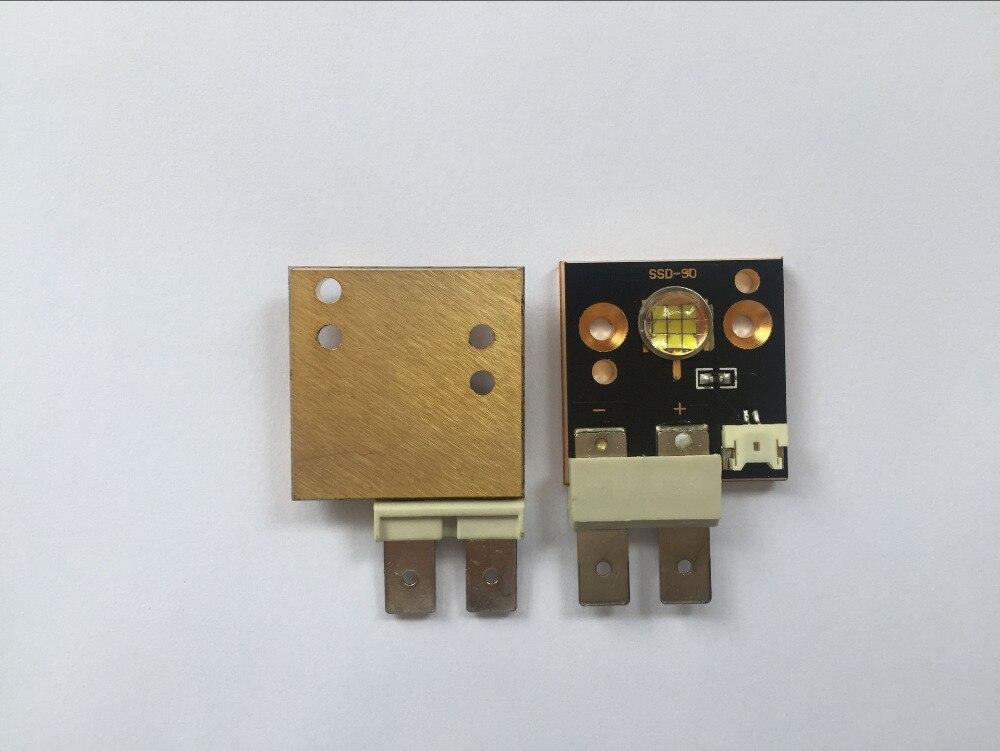 4PCS / Lot növeli a LED modul CST90 fehér színű 6500k 3000 lumen - Otthoni audió és videó