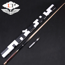 LP Jingang Model 3/4 Snooker Cue Stick 10mm Tip with Good Quality Cues Case Set Handmade Billiard Kit China