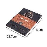 Thả vận chuyển Đặc Biệt Du Khách Mạo Hiểm Xô Danh Sách Scratch Bản Đồ Travel Book với Bản Đồ Danh Sách Hơn 300 Kinh Nghiệm