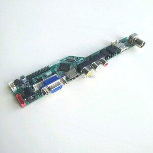 Image 3 - B154EW02ためV6 V7 vga hdmi av usb rf t。v56コントローラボード1ccfl 30Pin lvdsリモート + インバータ + キーボードlcdディスプレイパネルのdiyキット