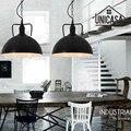 Промышленные подвесные светильники из кованого железа  винтажные Черные Металлические Светильники для отеля  кухни  острова  античные подв...