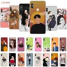 Lavaza Fashion art Hard Phone Case for Huawei Mate 10 20 P10 P20 P30 Lite Pro P Smart 2019 Honor 8x Cover
