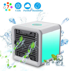creative mobile small air conditioning Car USB micro Water cooled fan