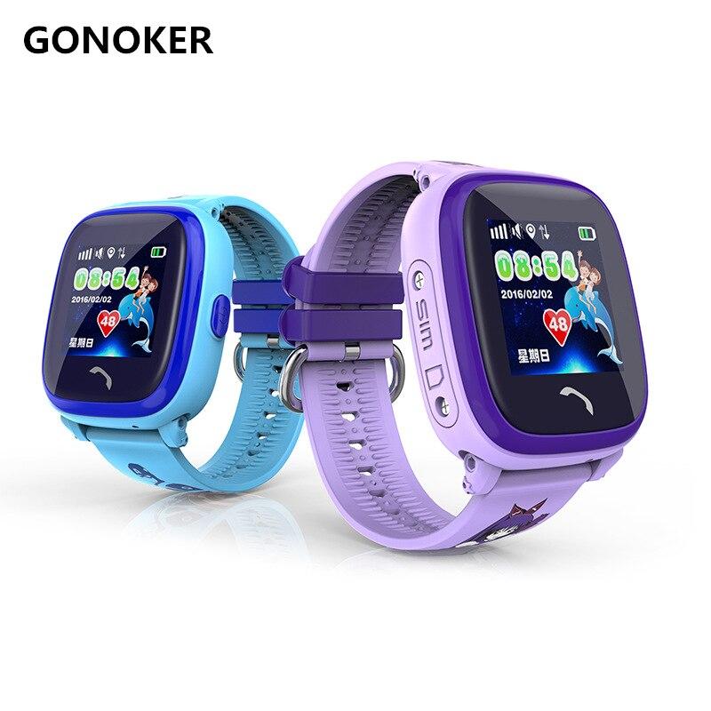 Kids Smart Watch IP67 Waterproof Watch DF25 Clock Children SmartWatch With Anti Lost SOS Call Location