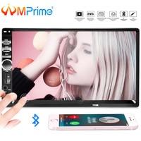 AMPrime 7018B Universal Car Multimedia Player Autoradio 2din Stereo 7 Touch Screen FM Video MP5 Player Auto Radio Backup Camera