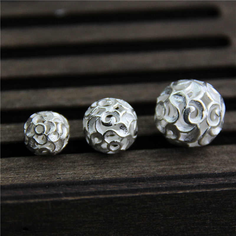 50pcs 6 Hole Wave Silver Plated Spacers Bars Jewelry Findings Earrings Necklace