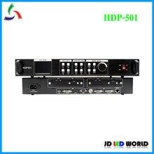 HUIDU HDP501 tam renkli LED ekran video işlemci ile çalışmak HD A601 A602 A603 oynatıcı kutusu T901 gönderme kartı