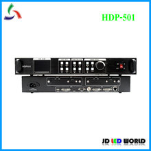 HUIDU pantalla LED a todo color HDP501, procesador de vídeo que funciona con HD A601 A602 A603, reproductor Box T901, tarjeta de envío