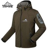 Nowy Przyjeżdża Oddychające Mężczyźni Kurtka Softshell Windstopper Wodoodporny Manteau Veste Homme Trekkingowe Mountain Na Zewnątrz Płaszcz