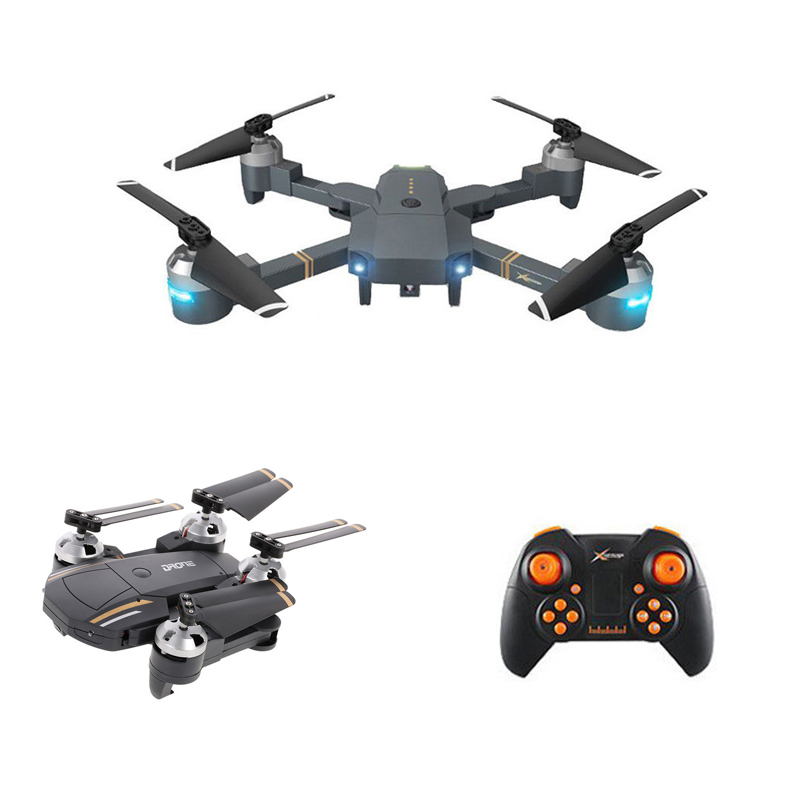 Mini Foldable RC Drone With HD Camera RC Quadrocopter With High Hold Mode RC Helicopter With