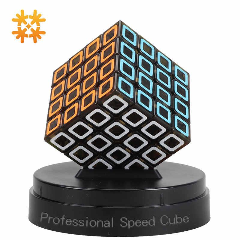 Qiyi البعد 3x3x3 4x4x4 المهنية سرعة الألغاز مكعبات سحرية لعب للتعلم للأطفال المكعب السحري لعب للبالغين