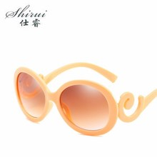 2019 New PC Frame Goggle Oversized Sunglasses Oval Brand Designer Vintage Women Fashion Sun Glasses Oculos De Sol UV400 Shades цена