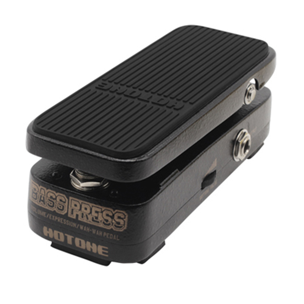 Hotone Bass Press Volume/Expression/Wah-Wah Pedal Electric Guitar Effect Pedal hotone brand soul press wah volume expression crybaby pedal electric guitar pedal free shipping