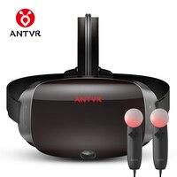 Antvr Новинка 2017 года Очки виртуальной реальности гарнитура для ПК Virtual PC очки бинокулярный 110 FOV 2160*1200 P VR коробка погружения 3D VR
