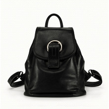 Ms. new vertical square leather large-capacity backpack Korean wave fashion multi-purpose