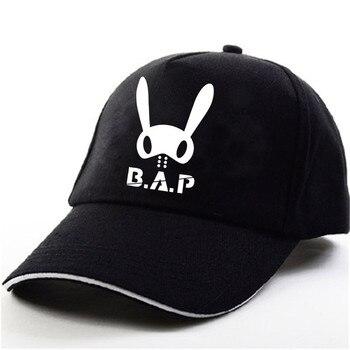 YOUPOP KPOP B.A.P BAP 2017 światowa trasa PARTY album dla dzieci koncert czarny czapka z daszkiem czapka w stylu hip-hop mężczyźni kobiety kapelusze