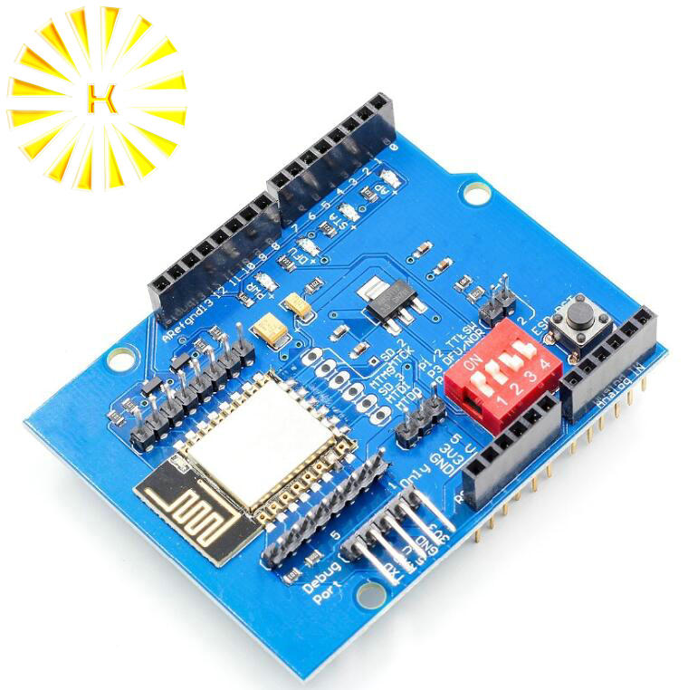 ESP8266 ESP 12E UART WIFI Wireless font b Shield b font Development Board For font b