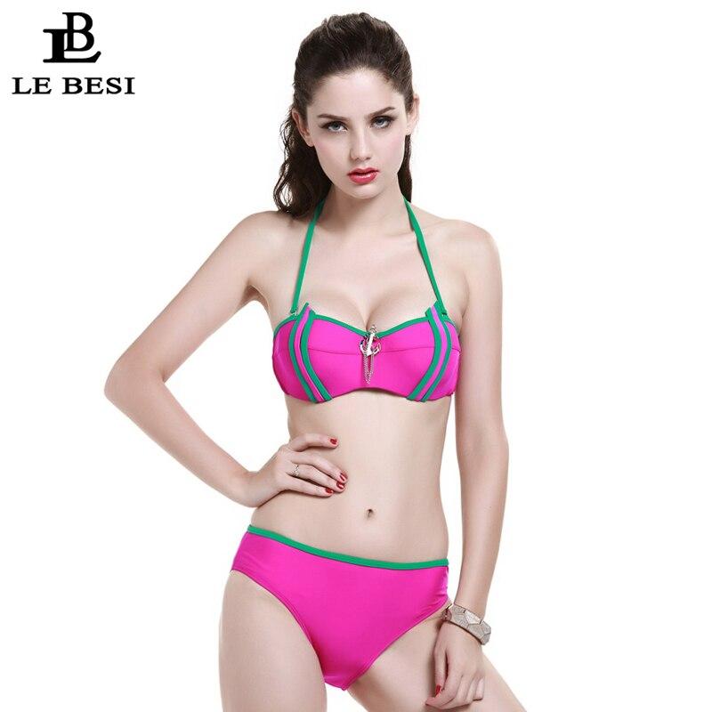 LEBESI 2017 Nuevos Bikinis Set Traje de baño de tres piezas para - Ropa deportiva y accesorios - foto 3
