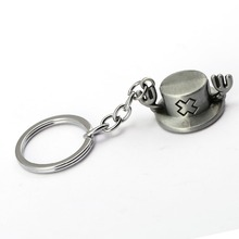 One Piece Chopper hat Key Ring Holder Key Chain