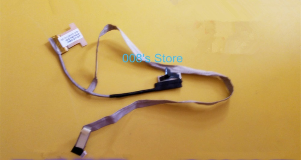 Brand New LCD Video Flex Screen Data Cable Wire Line For LENOVO U530T U530 DD0LZBLC020 Laptop Series free shipping brand laptop new lcd flex video cable for lenovo g500s g505s cable dc02001rr10