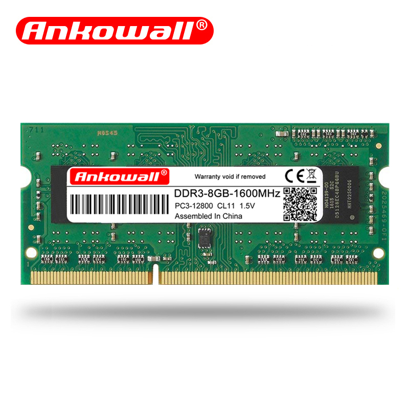 NEW For Kingston 8GB PC3 12800 DDR3 1600MHz 204pin SO-DIMM Laptop Memory RAM AAA