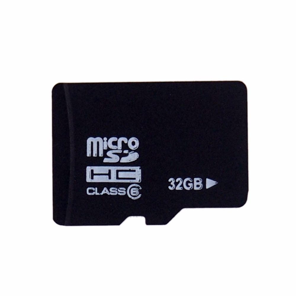 Free Shipping Smartphone Memory Card 32GB TF/SD Card Real Capacity Micro SD Card Flash Memory Free Gift adapter + TF card reader