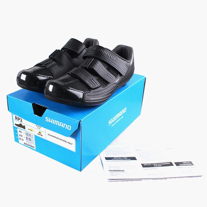 купить  SHIMANO SH RP2 SPD SL Road Bike Shoes Riding Equipment  Bicycle Cycling Locking Shoes  недорого