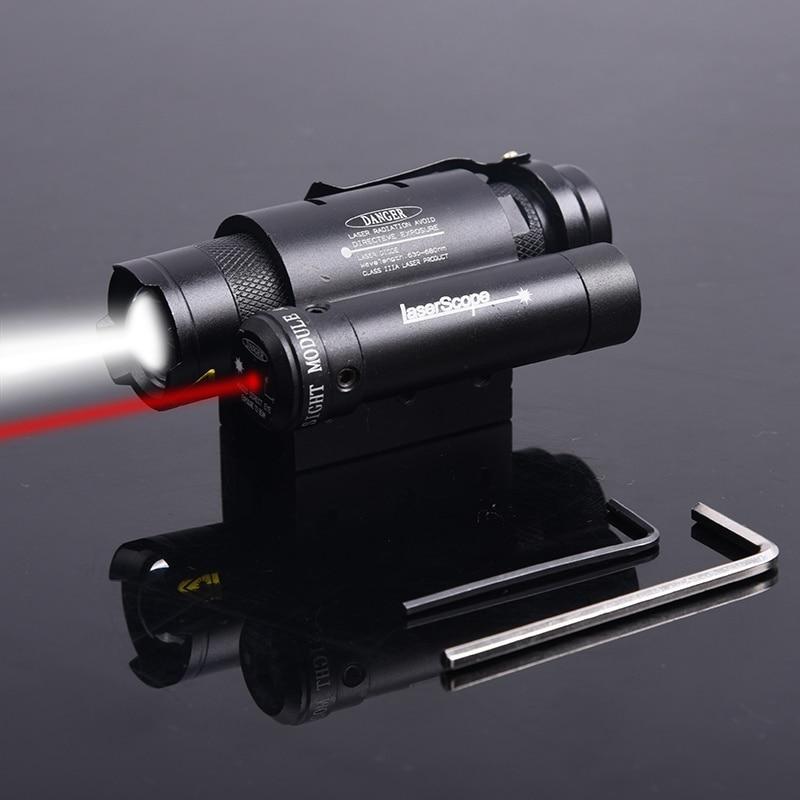 Element airsoft Chasse Tactique fusil pistolet Compact Red Dot Laser Puissant Focus Torche lampe de Poche Pour Militaire Paintball