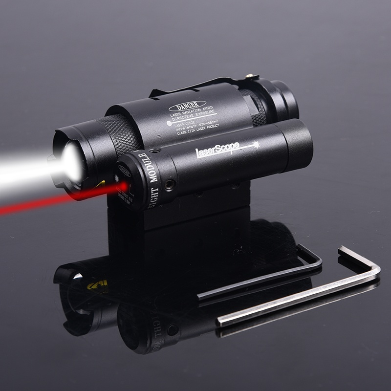 Element airsoft Hunting Tactical rifle pistol Compact Red Dot Laser Powerful Focus Torch Flashlight For Military Paintball