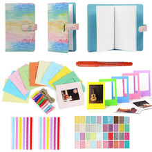 6 in 1 Kleurrijke Bundel Kit Accessoire Set voor Instax Mini 9 8 8 + 7 s 70 90 25 camera Diverse Accessoire Pack van Album Frames etc