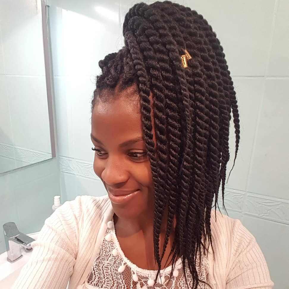 Havana Twist Crochet trenzado cabello 12 hebras/Paquete de pelo sintético tejido Senegalese Twist 6 paquetes de cabeza completa Toyotress trenza pelo