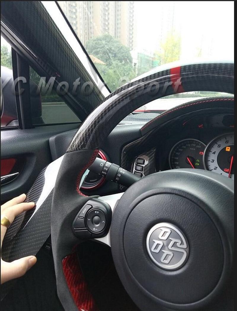 Accesorios para automóviles Cubierta de pilar de fibra de carbono - Accesorios de interior de coche - foto 4