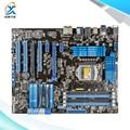 Para asus p8p67 tomada original usado motherboard desktop para intel p67 atx lga 1155 para i3 i5 i7 ddr3 32g