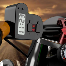 Universal USB Motorcycle Waterproof Charger Motorbike Adapter Electric Bicycle Digital Voltmeter Gauge Handlebar New Car-Styling