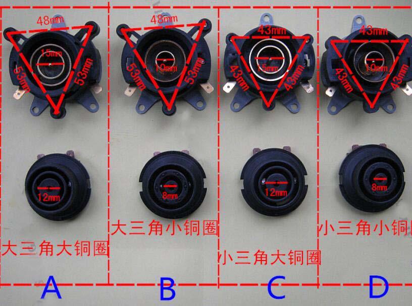 AC 220/230V 3 Port Temperature Control Socket Base Kettle Thermostat 1set ac 220 240v 10a ksd 01 13a kettle thermostat temperature controller socket base