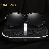 2018 Fashion Women Polarized Sunglasses Black/Red/Brown/Purple Color Free Shipping