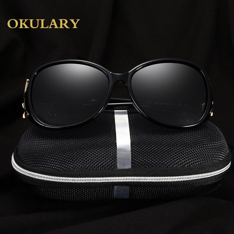 2018 Mulheres Da Moda Óculos Polarizados Óculos de Sol Preto/Vermelho/Marrom/Roxo Cor Frete Grátis