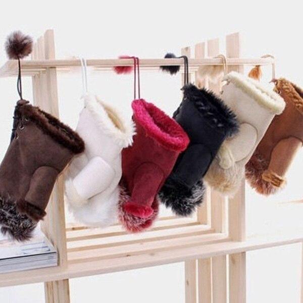 Fashion Womens Girl Faux Rabbit Fur Hand Warmer Winter Fingerless Gloves Mittens