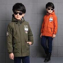 2016 new children's clothing boy coat autumn and winter children thicker coat small boy cotton large child warm coat