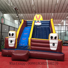 Commercial inflatable slide for kids bouncers  inflatable slide  include blower