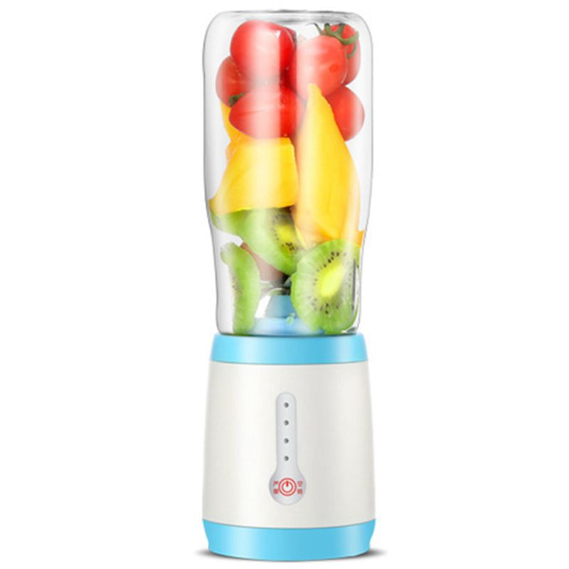 цена на New Juicer Cup, Portable Juice Blender, Personal Size Eletric Rechargeable Mixer, 500ml Fruit Mixing Machine with USB Charger