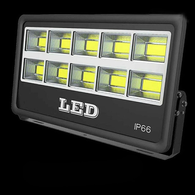 50W 100W 150W 200W 300W 400W 500W AC85-265V Waterproof Refletor LED Spotlight Floodlight Garden Street Light Outdoor Wall Lamp