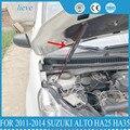 Для 2011-2014 Suzuki Alto HA25 HA35 авто-Стайлинг ремонт капота газовая пружина амортизатор стойки опорный стержень автомобильные аксессуары