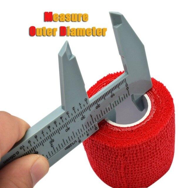 Plastic vernier caliper 150MM plastic caliper Vernier caliper Mini caliper Tattoo supplies 5
