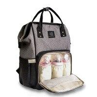 Mum Travel Backpack LAND Baby Diaper Bag Fashion Mummy Maternity Nappy Bag Large Capacity Bag Designer Nursing Baby Strolle Bag