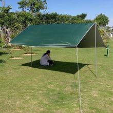 Beach Sun Shelter Tent Waterproof Rain Fly UV Tarp Tent Camping Sunshade Awning Outdoor Sun Shade Canopy for Beach
