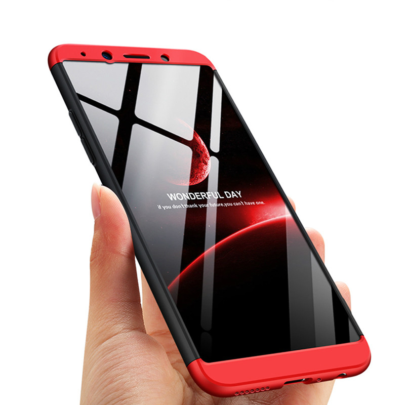 3In1 Case For OPPO R9 R9s Plus A Realme1 Accessories 360 Protection Coverr High Quality Hard Hybrid Plastic
