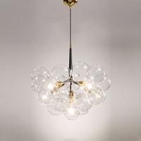 Creative bubble led pendant lights for room bar clear glass lampshade , loft pendant lamp modern lighting fixtures E27/110 240v