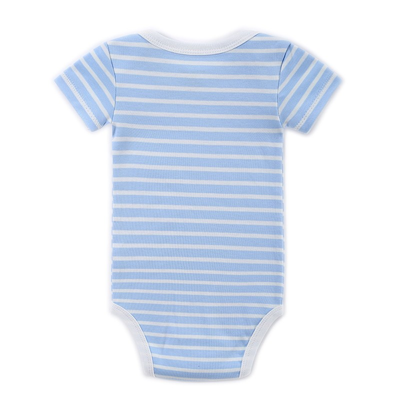 2016 Hot Sale Baby Bodysuit Infant Jumpsuit Bebe Overall Short Sleeve Boy Girl Body Suit Baby Clothing Set Summer Cotton (40)