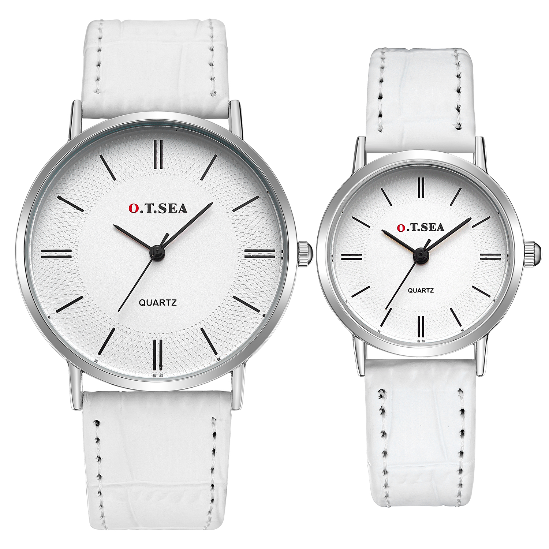 O.T.Sea Simple Brand Quartz Watches Women Men Fashion Casual Lovers Quartz Watch Minimalism Hand Clock For Couple Reloj Montres